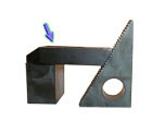 ZIP Serrated Step Clamps (inch)
